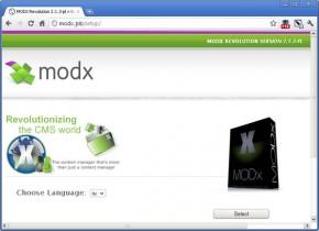 установка modx 1