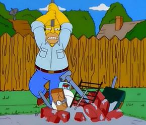 Рецепт гриля от Гомера