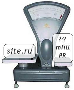 определение SEO-показателей сайта