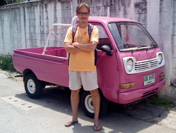 женский грузовик